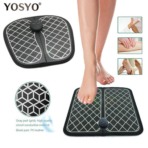 YOSYO™ Pain-Relief EMS Foot Massager - Indigo-Temple