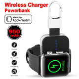 ChargeGo™ - Compact Wireless Charger For Apple-iWatch - Indigo-Temple