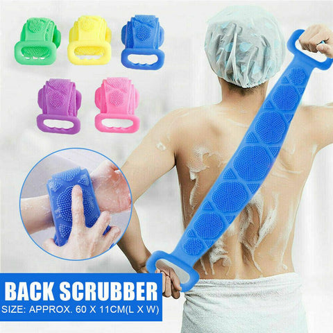 SilkyBack™ Double Sided Silicone Skin Scrubber