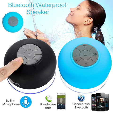 Shower Waterproof  Bluetooth Speaker - Indigo-Temple