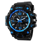 LED Military Waterproof Wristwatch - Indigo-Temple