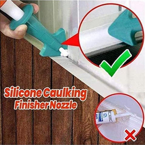 Caulk Nozzle & Scraper Tool Set