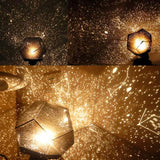 Star Sky Projection Cosmos Night Light Lamp - Indigo-Temple
