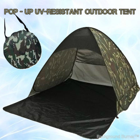 The ProPop™ Anti-UV Easy setup Pop-Up Tent - Indigo-Temple