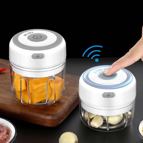 USB Rechargeable Wireless Mini Electric Chopper