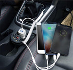 ChargingChief™ 3 In 1  Smart  Car Charger - Indigo-Temple