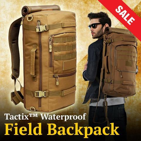 TACTIX™ WATERPROOF FIELD BACKPACK - Indigo-Temple