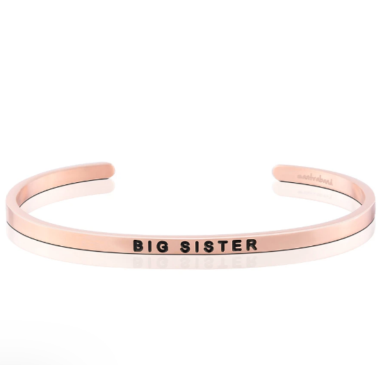Mantraband Bracelet Rose Gold