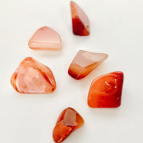 Load image into Gallery viewer, Tumbled Carnelian Pocket Stone
