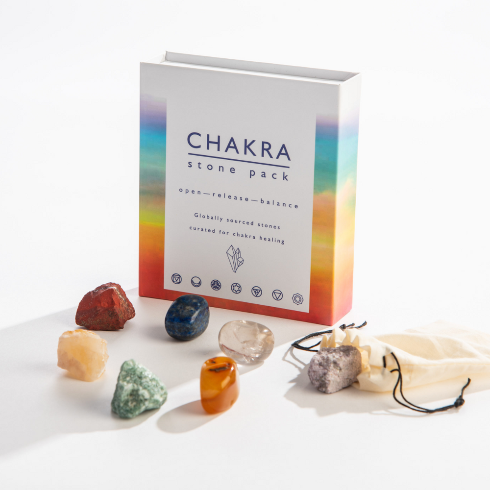 Load image into Gallery viewer, Chakra Stone Pack