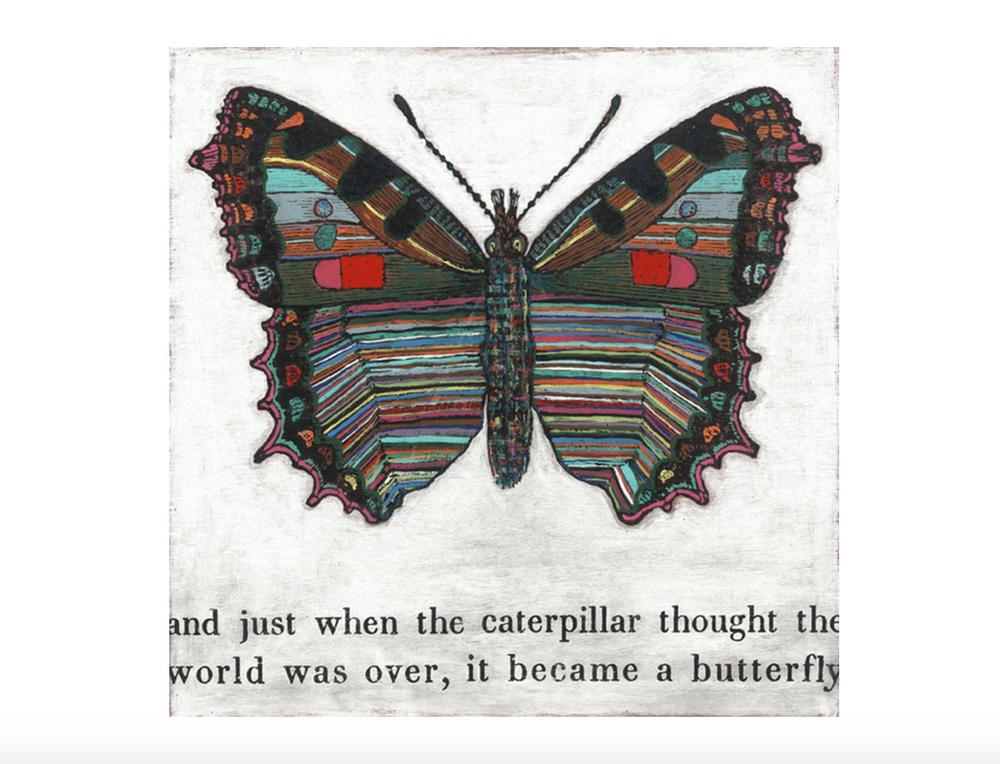 Load image into Gallery viewer, Butterfly Art Print
