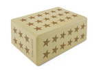 Yoga Block - Yellow Star
