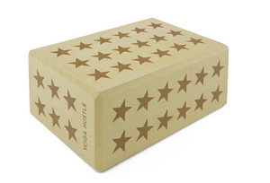 Load image into Gallery viewer, Yoga Block - Yellow Star