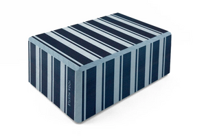Load image into Gallery viewer, Yoga Block - Blue Stripe