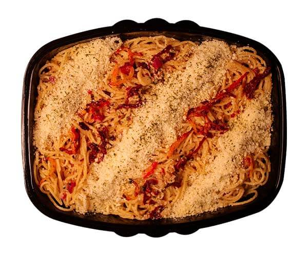 Pasta in Sundried Tomatoes