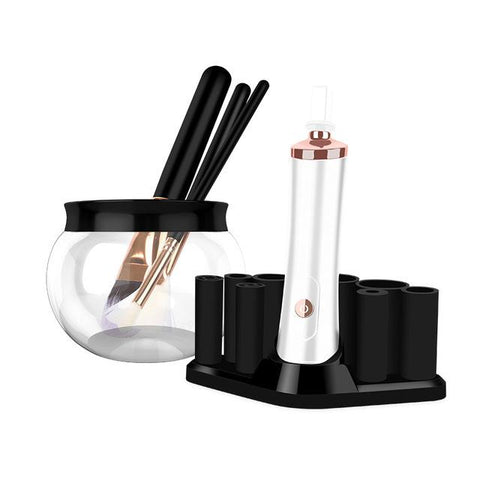 Electric Wash Makeup Brush Cleaner + Dryer