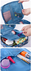 Makeup Bag Organizer & Storage Travel Kit