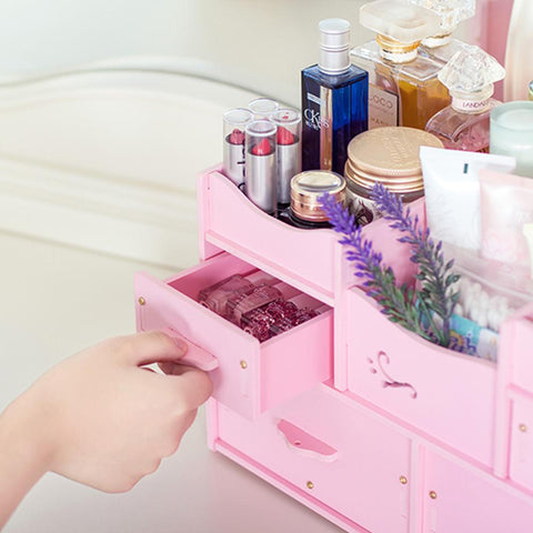 Waterproof Cosmetic Container Organizer