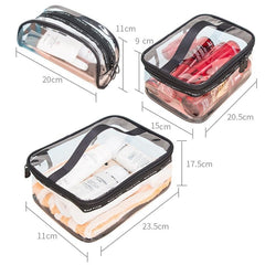 Waterproof Transparent Cosmetic Case