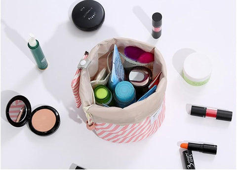 Round Cosmetic Case
