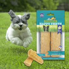 Load image into Gallery viewer, Himalayan Pet Supply Dental Dog Chew | Happy Teeth Natural Cheese Dog Chews