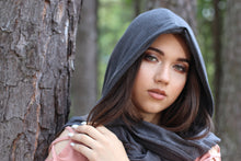 Load image into Gallery viewer, HUVA Unisex Hooded Scarf