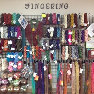 Fingering Weight Yarns