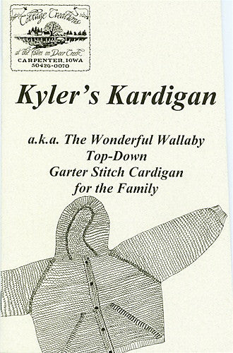 Kyler's Kardigan - Pattern Book
