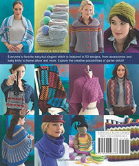 50 Garter Stitch Gifts to Knit - Book