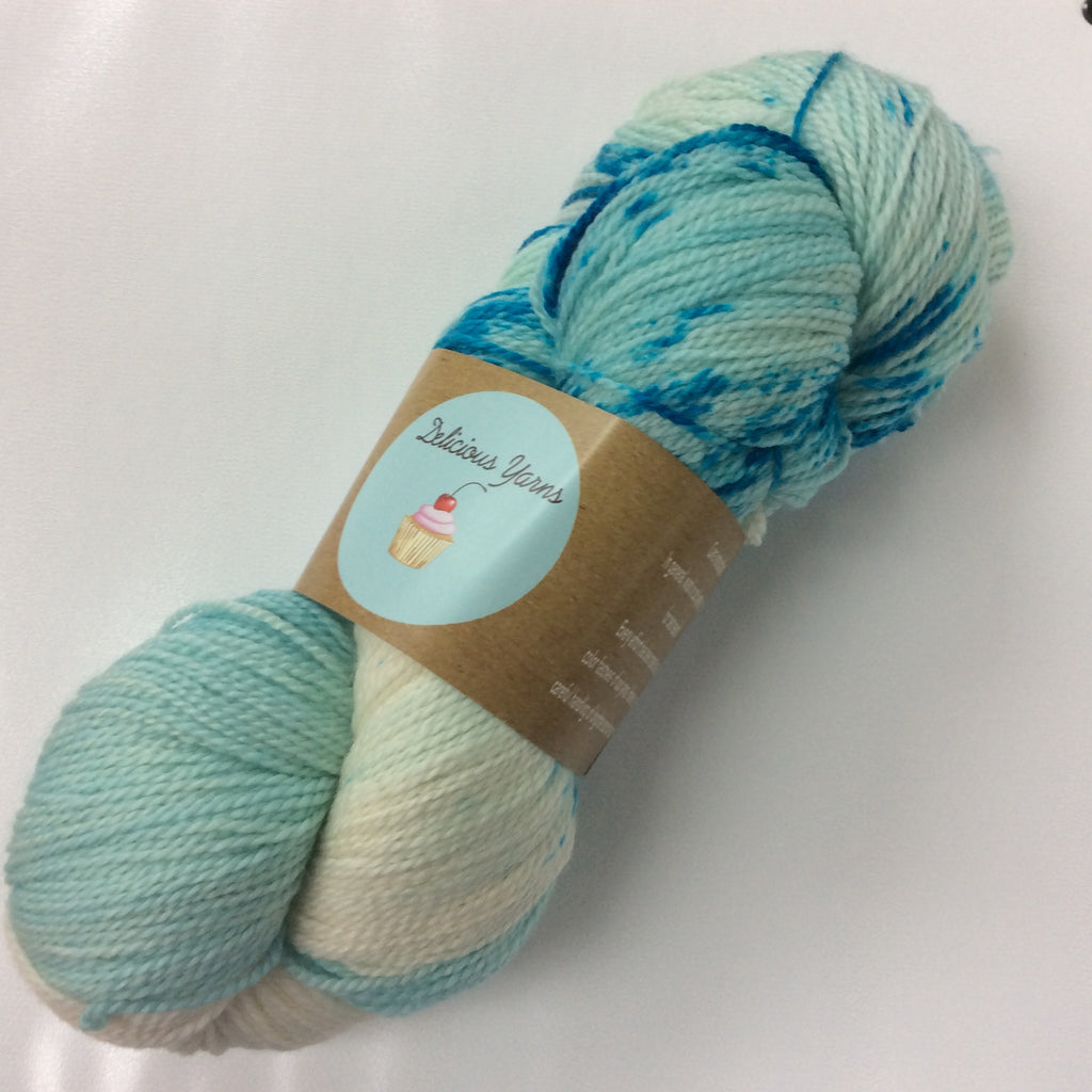 Delicious Yarns Speckles Fingering Jellybean