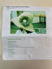 """Sun Hat"" Kit (crochet)"