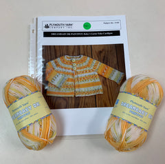 Baby's Garter Yoke Cardigan Kit