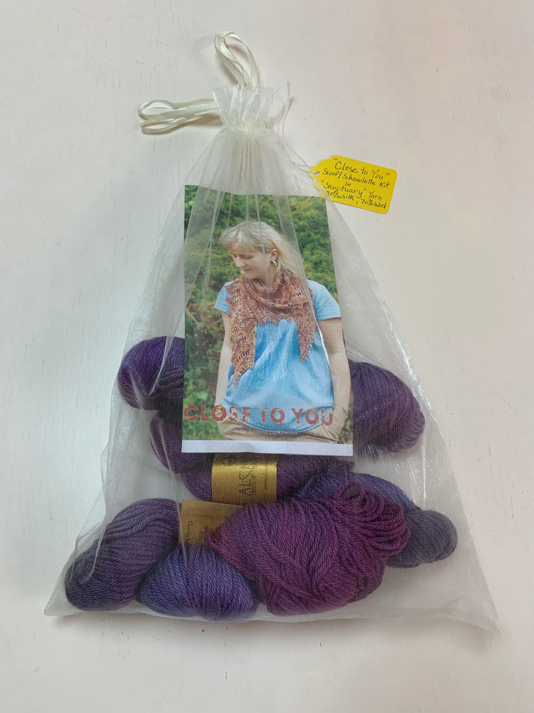 """Close to You"" Shawlette Kit"