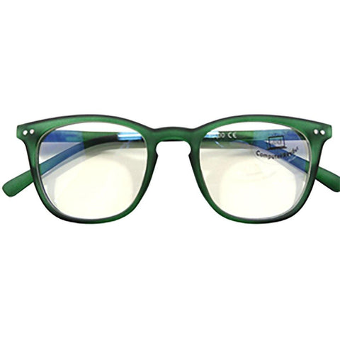 Blue Blocker Glasses in Green - Ocean Eyewear Australia