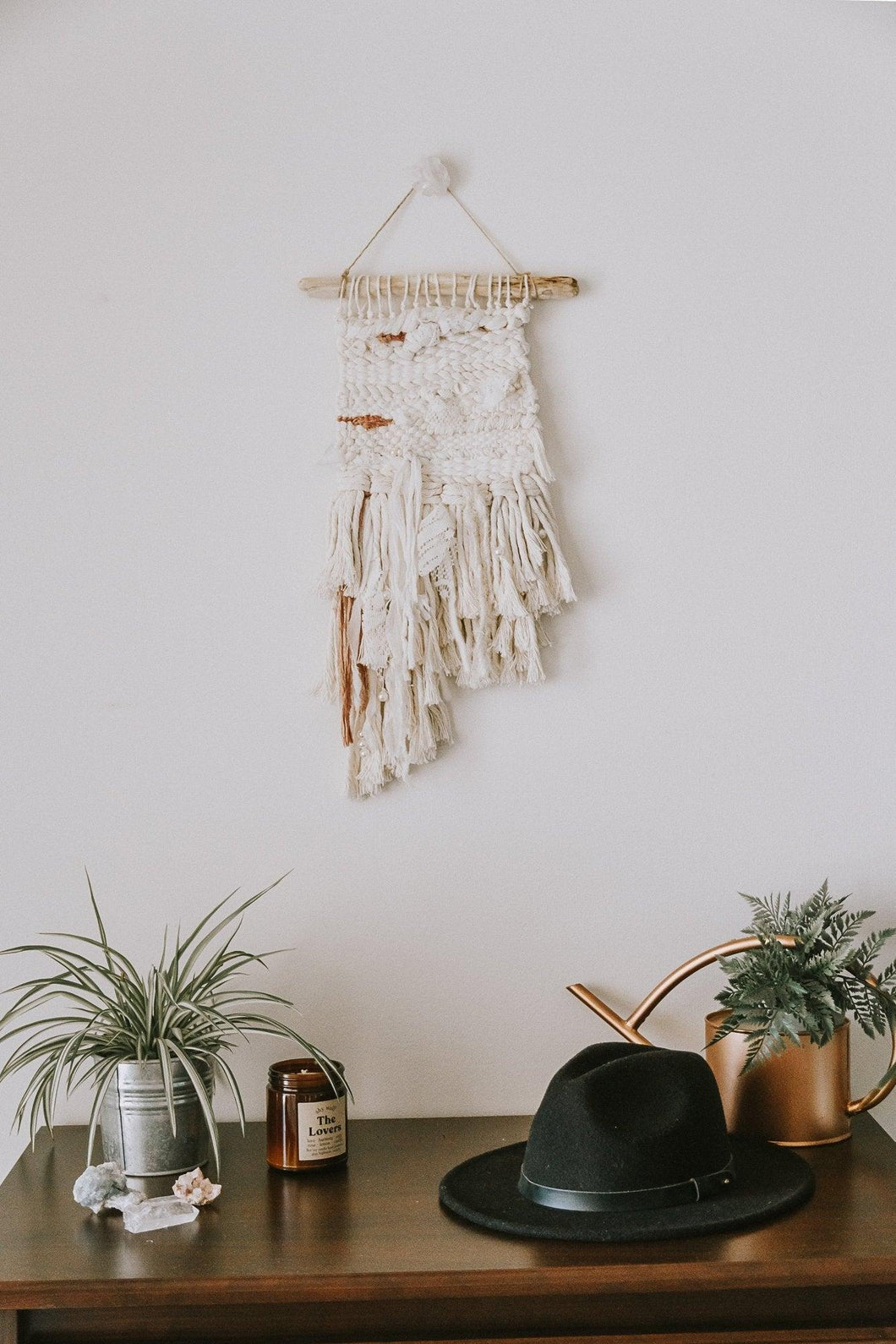 ICON – Like A Virgin x Hollywood | Woven Wall Hanging | Boho Inspired Decor - little oak + co.