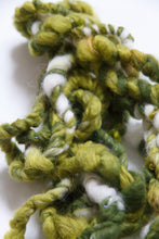 Load image into Gallery viewer, Kermit | Hand Spun Art Yarn - little oak + co.