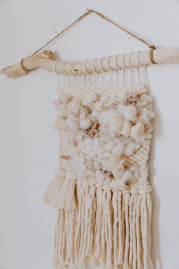Soft + Sweet Handspun Weaving - little oak + co.