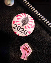 Load image into Gallery viewer, Pussy for President 2020 Pin Button