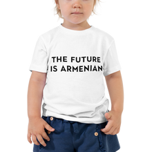 Load image into Gallery viewer, The Future is Armenian | Shirts | Toddlers (Ages 2-5)