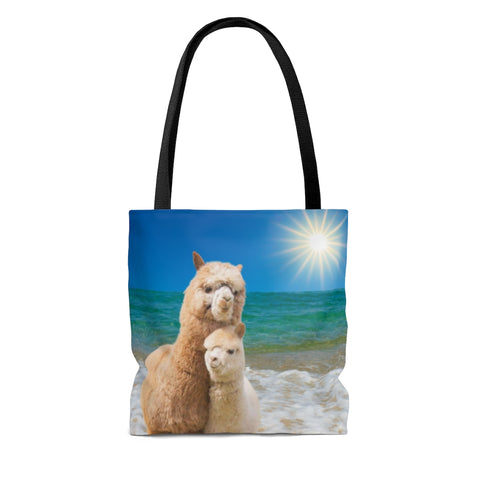 Cherished Baby Llama Gift Tote Bag, You are My Sunshine #5, Free Shipping