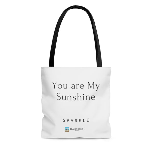 Sparkle Llama Gift Tote Bag, You are My Sunshine #11, Free Shipping