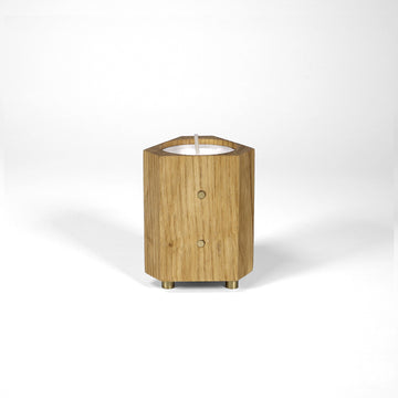 Wood Light (Votive) Holder