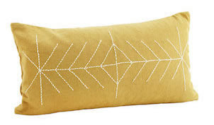 Madam-Stoltz-Embroided-Cushion-Cover-Mustard-2