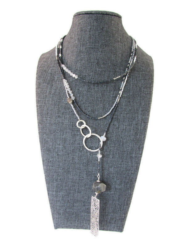 Lariat necklace - 50-52 inches