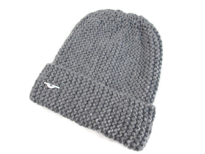 Gray Knitted hat