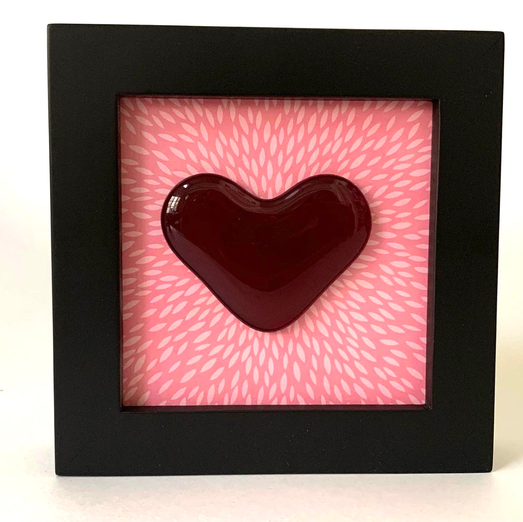 Framed heart