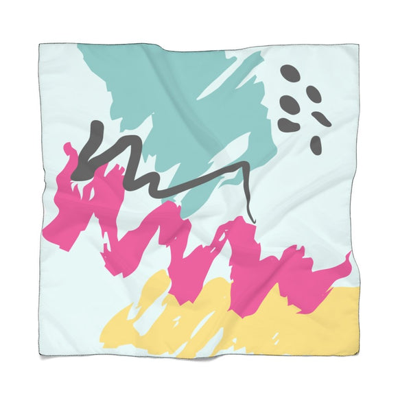 Abstract Sky Scarf