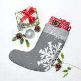 Christmas boot with snowflake
