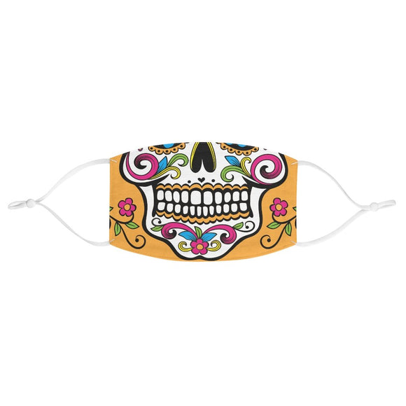 Colorful Sugar Skull Halloween Face Mask