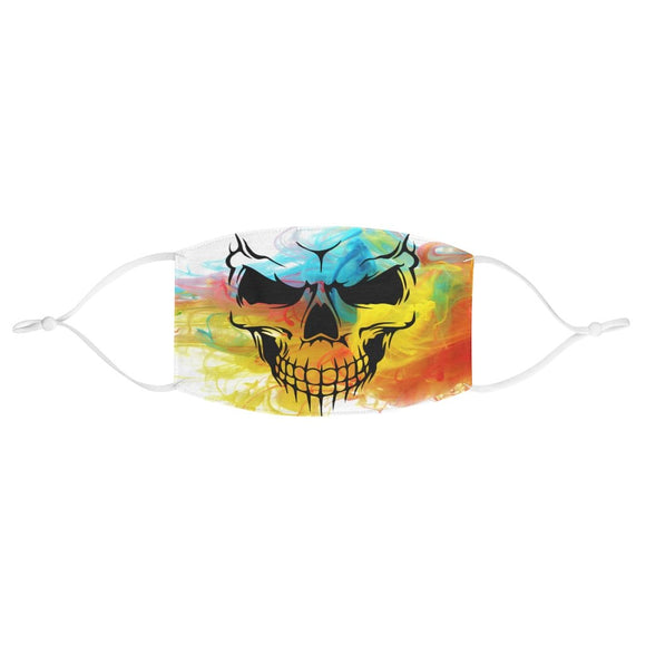 Multicolor Sugar Skull Halloween Face Mask
